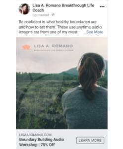 Martin Marketing Facebook Ad Example