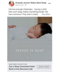 Example of Instagram Ad
